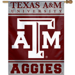 WinCraft Texas A&M University Vertical Flag