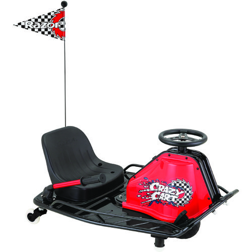 Display product reviews for Razor® Crazy Cart V2 Ride-On Electric Cart