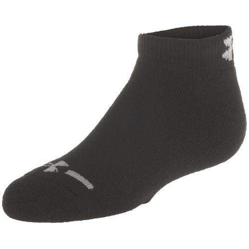 Under Armour Boys' Charged Cotton Low-Cut Socks