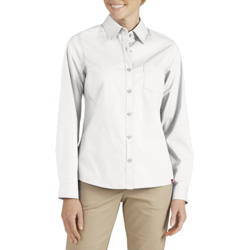 Display product reviews for Dickies Women's Long Sleeve Service Shirt