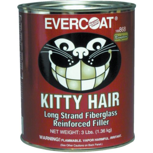 Evercoat Kitty Hair Long-Strand Fiberglass-Reinforced Filler