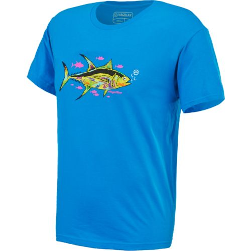 Image for magellan outdoors women 39 s tiki snapjack t shirt for Magellan women s fishing shirts