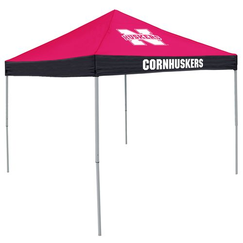 Logo University of Nebraska Straight-Leg 9 ft x 9 ft Economy Tent