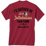 New World Graphics Men's Florida State University Short Sleeve T-shirt