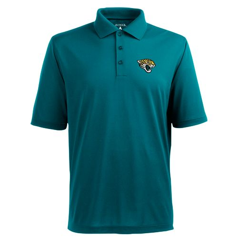 Antigua Men s Jacksonville Jaguars Piqué Xtra-Lite Polo Shirt  2986dc045