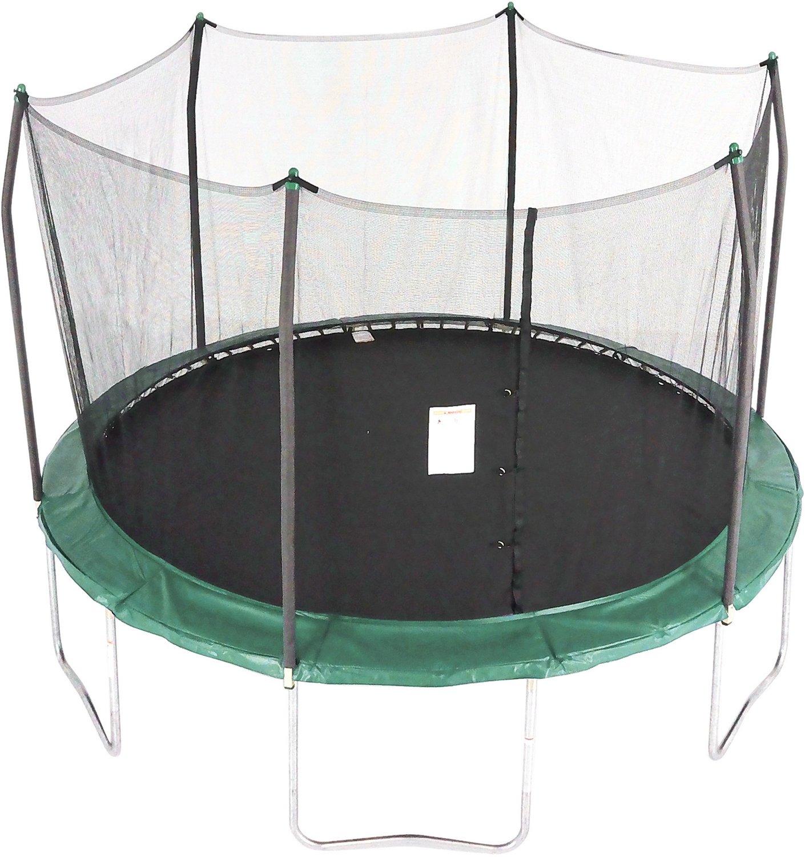 Skywalker 15 Ft Round Trampoline With Enclosure: Skywalker Trampolines 12' Round Trampoline With Safety