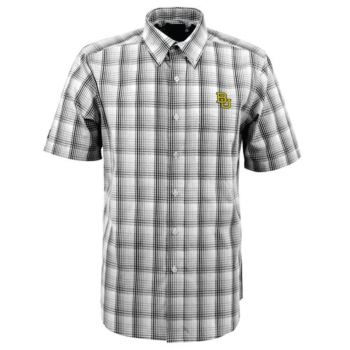 Antigua Men's Baylor University Alumni Short Sleeve Shirt