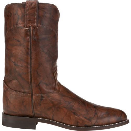 Display product reviews for Justin Men's Marbled Roper Boots