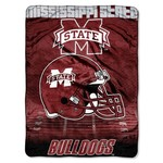 The Northwest Company Mississippi State University Overtime Micro Raschel Throw - view number 1