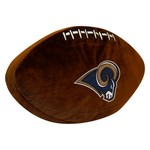 The Northwest Company St. Louis Rams Football Shaped Plush Pillow
