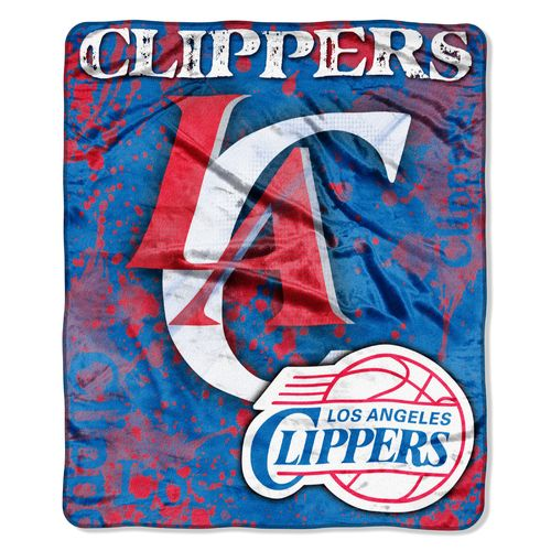 The Northwest Company Los Angeles Clippers Dropdown Raschel Throw - view number 1