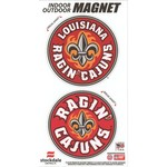 Stockdale University of Louisiana at Lafayette Logo Magnets 2-Pack
