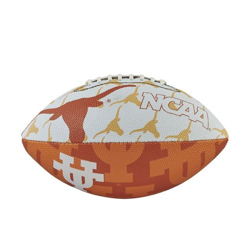Wilson University of Texas Junior Super Grip Football