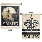 WinCraft New Orleans Saints 2-Sided Vertical Flag