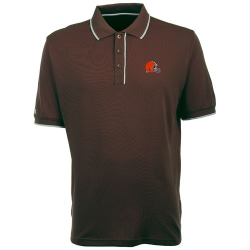 Antigua Men's Cleveland Browns Elite Polo Shirt