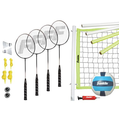 Franklin Sports Advanced Badminton and Volleyball Set