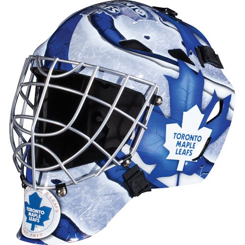 Franklin Boys' Toronto Maple Leafs GFM 1500 Goalie Face Mask - view number 1