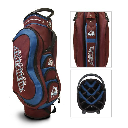 Team Golf Colorado Avalanche 14-Way Cart Golf Bag - view number 1
