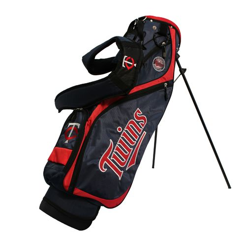 Team Golf Minnesota Twins Nassau Stand Golf Bag