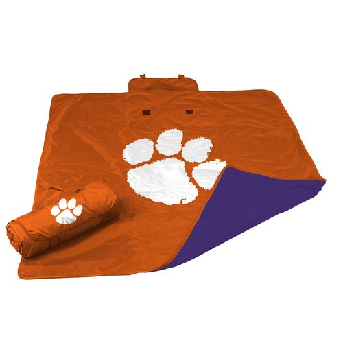Logo Clemson University All-Weather Blanket