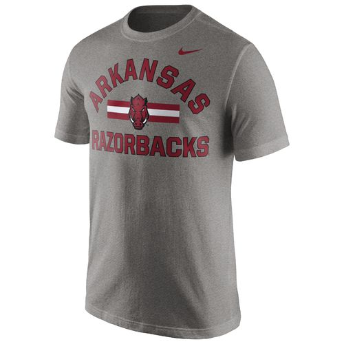 Nike™ Men's University of Arkansas Short Sleeve Cotton T-shirt