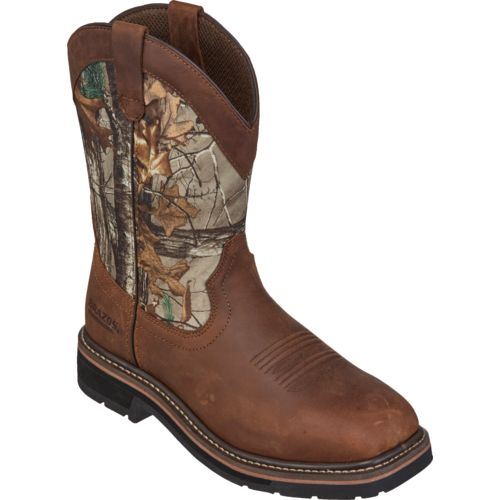 Brazos Men's Bandero NS Realtree Xtra Wellington Work Boots - view number 2