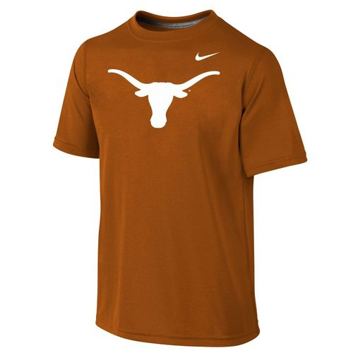 Nike Boys' University of Texas Dri-FIT Legend Short Sleeve T-shirt