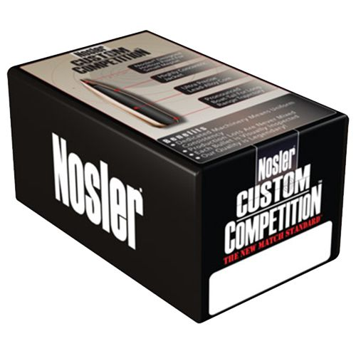 Nosler Custom Competition HP .30 Caliber Reloading Bullets