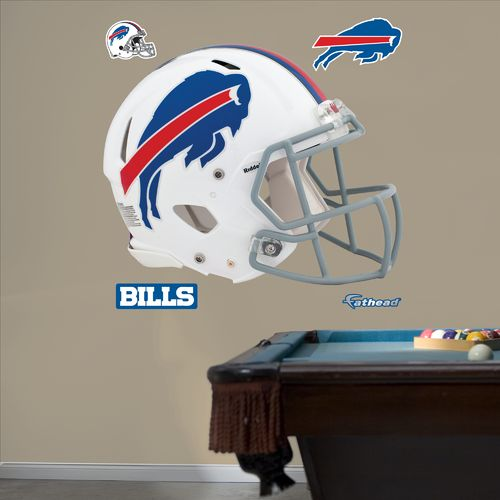 Fathead Buffalo Bills Real Big Helmet Decal