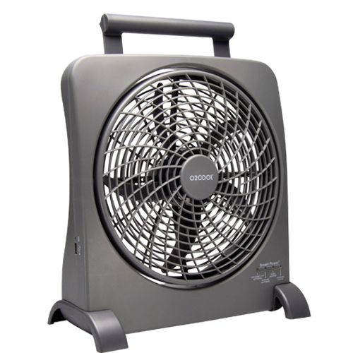"O2 COOL® 10"" SmartPower® Fan with USB Power"
