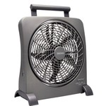 "O2 COOL® 10"" SmartPower® Fan with USB Power Port"