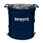 Logo New England Patriots Collapsible 3-in-1 Cooler/Hamper/Wastebasket