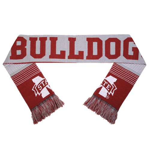 Forever Collectibles™ Adults' Mississippi State University Reversible Split Logo Scarf