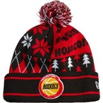 New Era Men's Houston Rockets Boxed Link Knit Cap