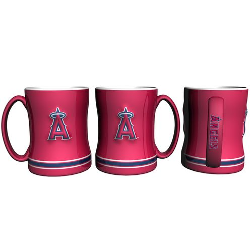Boelter Brands Los Angeles Angels of Anaheim 14 oz. Relief Coffee Mugs 2-Pack