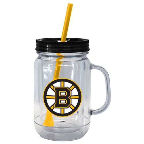 Boelter Brands Boston Bruins 20 oz. Handled Straw Tumblers 2-Pack - view number 1