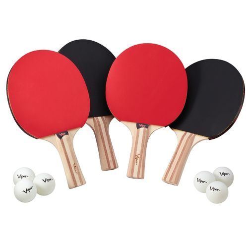 Viper 4-Racket Table Tennis Set - view number 1