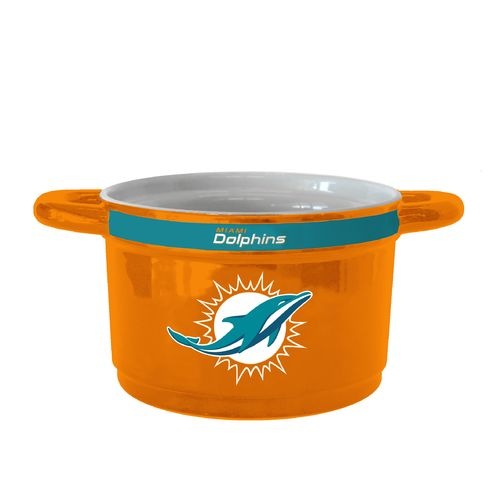 Boelter Brands Miami Dolphins Gametime 23 oz. Ceramic Bowl
