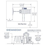 Backyard Discovery™ Shenandoah Wooden Swing Set - view number 8