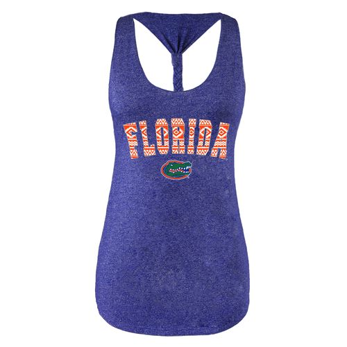 Chicka-d Women's University of Florida Braided Tank Top