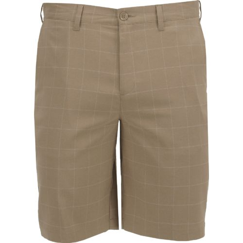 BCG Men's Basic Plaid Golf Short