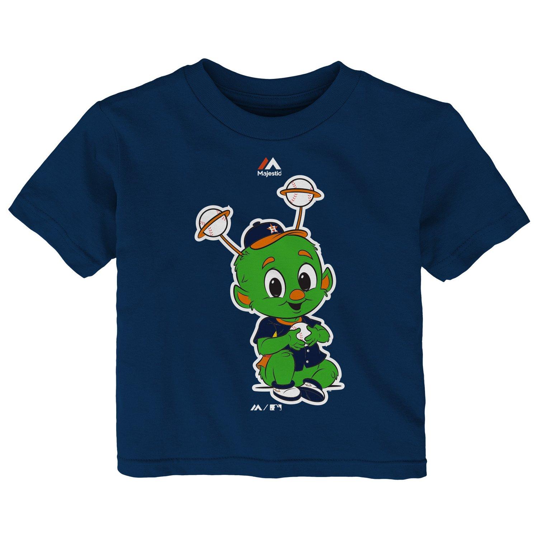 Majestic Infants' Houston Astros Baby Mascot Short Sleeve