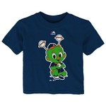 Majestic Infants' Houston Astros Baby Mascot Short Sleeve T-shirt