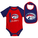 Colosseum Athletics Infants' University of Houston Rookie Onesie and Bib Set