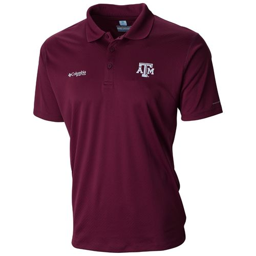 Columbia Sportswear Men's Texas A&M University Collegiate PFG ZERO Rules™ Polo Shirt