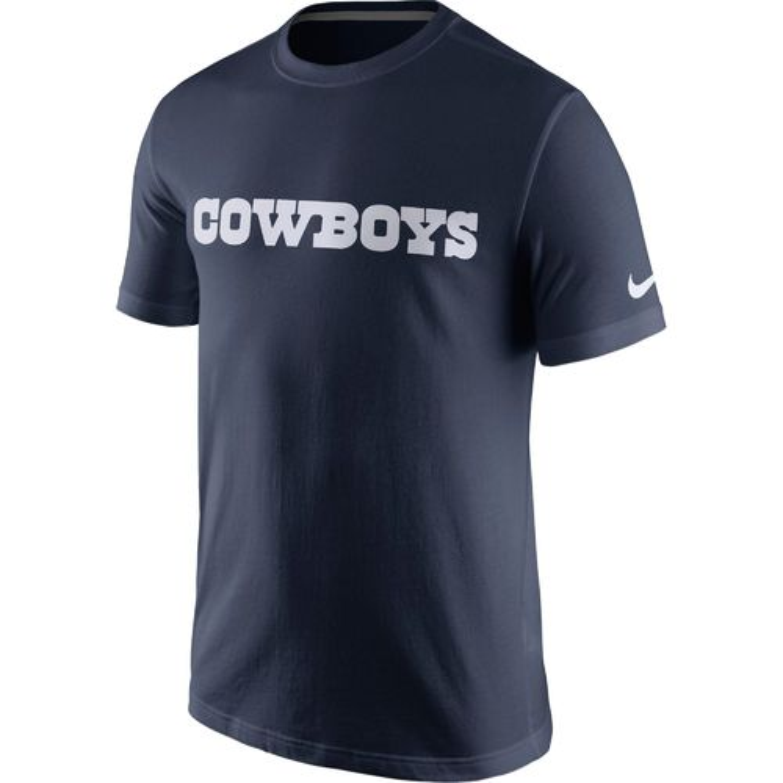 Display product reviews for Nike Men's Dallas Cowboys Essential Wordmark T-shirt