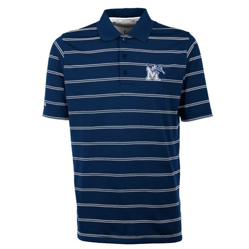Antigua Men's University of Memphis Deluxe Polo Shirt