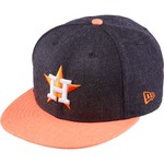 New Era Men's Houston Astros 39THIRTY Heather Act Snap Ball Cap