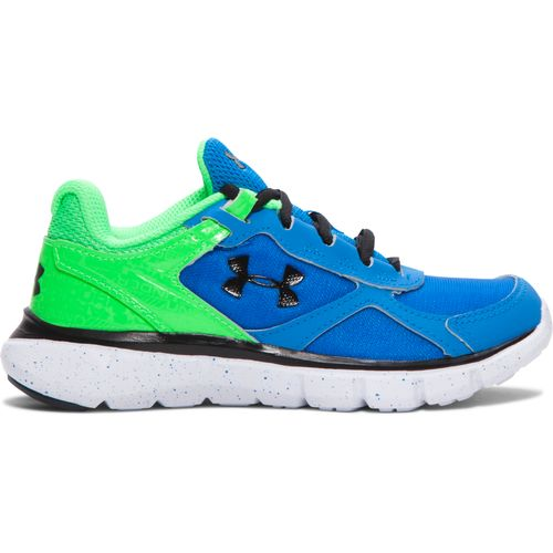 Under armour blue cushioned shoes academy for Under armour fishing shoes