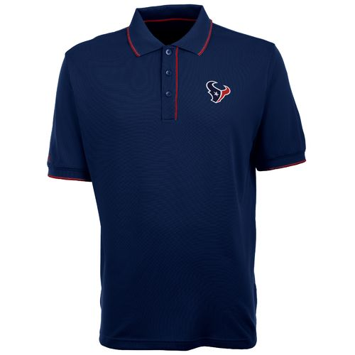 Antigua Men's Houston Texans Elite Polo Shirt